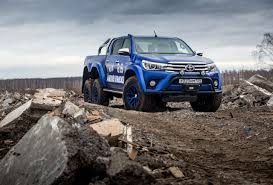 toyota truck hilux behold awesomeness 2017 toyota hilux 6x6 by arctic