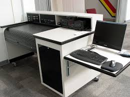 Argosy Console Desk Sound Mixing Desk On Wheels