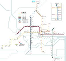Dubai Metro Map by Home