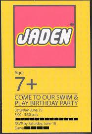 Lego Invitation Cards 122 Best Lego Birthday Images On Pinterest Lego Parties Boy