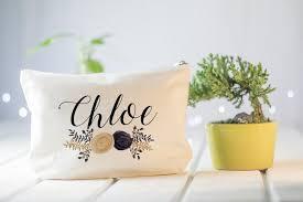 personalized gift ideas personalized gift personalized makeup bag custom cosmetic bag