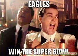 Super Bowl Meme - eagles win the super bowl meme ray liota 63574 memeshappen