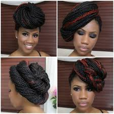 four simple styles for box braids with kyssmyhair part 1 the boah