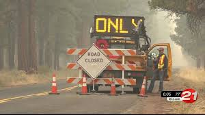 Alaska Wildfire Road Closures by Wildfires Close Roads Across Oregon Ktvz