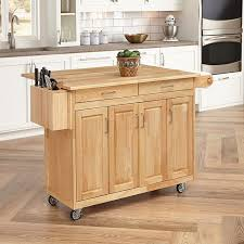 kitchen beautiful butcher block rolling cart pre made kitchen