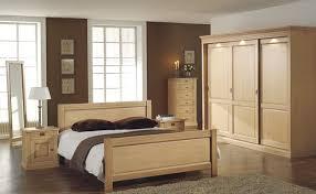 chambre adulte bois chambre complete en bois moderne
