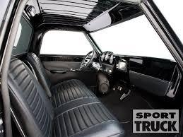 Chevrolet C10 Interior 1972 Chevy C10 Custom Trucks Sport Truck Magazine