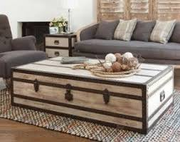 Coffee Table Trunks Distressed Trunk Coffee Table Foter