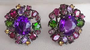 amethyst earrings ruby gorgeous amethyst earrings