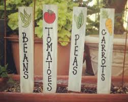 garden stakes etsy