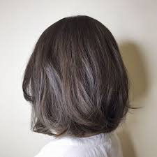how to bring out gray in hair 35 smoky and sophisticated ash brown hair color looks part 12