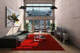 living room red rugs for living room with minimalist style nila