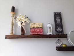 hand crafted floating shelf deep floating shelves reclaimed wood