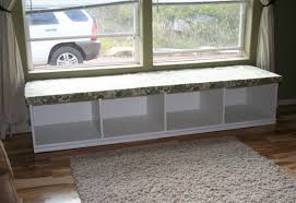 Window Seat Storage Bench Diy by Bench Diy Outdoor Bench Seat With Storage Solid Wood Storage