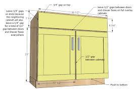Kitchen Cabinet Depth Kitchen Base Cabinet Depth 18 Nrtradiant Com