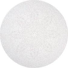 Round Wooden Table Top View Piccadilly Polka Dot Round Linen Tablecloth Huddleson Linens Horne