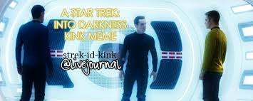 Star Trek Kink Meme - spread the word a star trek into darkness kink meme