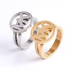 ring models for wedding luxury titanium steel gold ring for women index finger