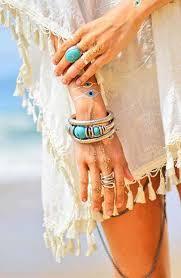boho wrap a turquoise and silver boho wrap bracelet