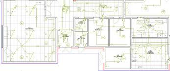 Floor Plan With Electrical Layout Draftlogic Inc Floor Plans