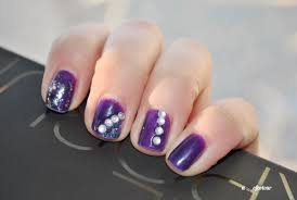nail art with gems beautify themselves with sweet nails