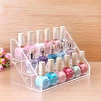 cheap acrylic nail polish display shelf free shipping acrylic
