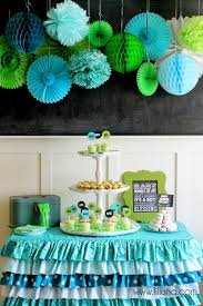 green baby shower decorations fabulous boy baby shower ideas aqua babies and baby shower planner