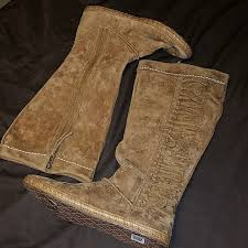 ugg s mammoth boots 33 ugg shoes uggs mammoth knotted fringe knee high
