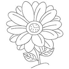 printable coloring pages of pretty flowers 25 free printable flowers coloring pages online