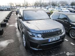 land rover sport custom land rover range rover sport svr 14 january 2017 autogespot