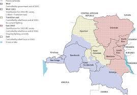 Republic Of Congo Map Mortality In The Democratic Republic Of Congo A Nationwide Survey
