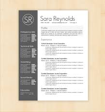 13 best photos of best looking resume design template cool