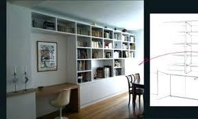 bureau bibliothèque intégré meuble bureau bibliotheque bibliothaque tema home meuble tv