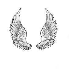tattoo on pinterest wing tattoos angel wing tattoos and heart