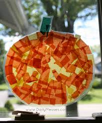 daily messes pumpkin stained glass