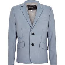 boys light blue suit lovely river island uk boys light blue blazer cheap