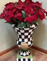 whimsical home decor buy a hand crafted whimsical painted urn planter urn planter