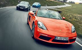 volkswagen sports car in avengers 2016 u0027s hottest sports cars slug it out porsche 718 boxster s vs