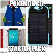 Meme Generator Starter Pack - pokemon go starter pack imgflip