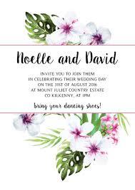 wedding invitations kilkenny tiki wedding invitation burning design wedding invitations