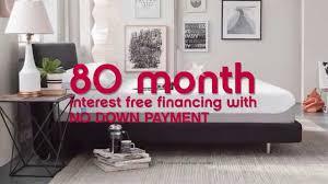 apartment furniture interest free financing popular home design