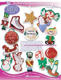 stuffed ornaments 59 99 goodesign