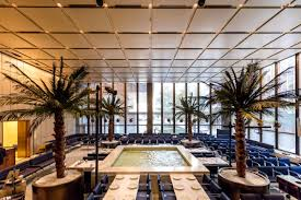 modern interiors the four seasons restaurant u0027s midcentury modern interiors get