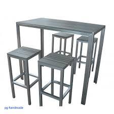 table de cuisine avec tabouret table de cuisine pour meuble jardin élégant table haute pour cuisine