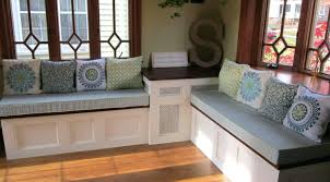 Wooden Storage Bench Seat Plans by Diy Storage Bench Seat Plans Build Corner Storage Bench Seat Build