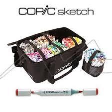 copic sketch maletín con 358 colores gama completa artemiranda