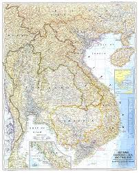 Map Of Cambodia Cambodia Laos And Thailand Map