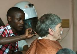 romeo haircut the child soldier who traded his machete for a pair of scissors
