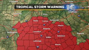 Map Of Atlanta Ga Weather Alerts In Metro Atlanta Cbs46 News