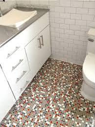 brio gray u0026 orange glass mosaic tile blue riff modwalls modern